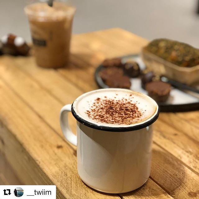 Thank you for sharing, @__twiim! We hope you enjoyed your hot drink and time at Draft.