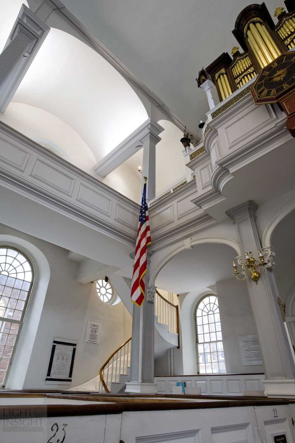 Historic Old North Church; Boston Cove Relighting