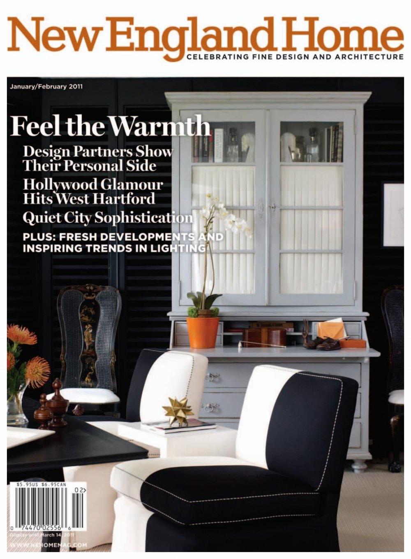 New England Home Magazine Jan/Feb 2011