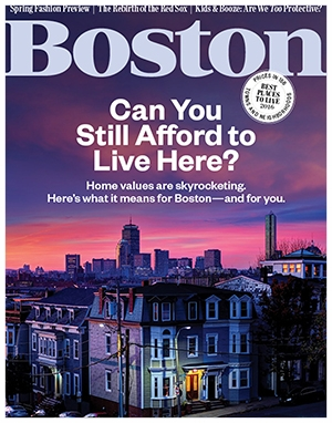 Boston Magazine Spring 2016