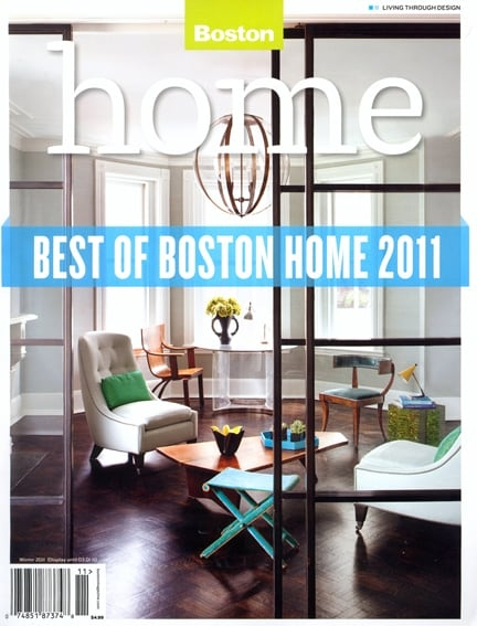Boston Home Magazine Winter 2011