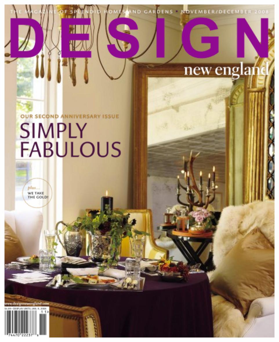 Design New England Nov/Dec 2008