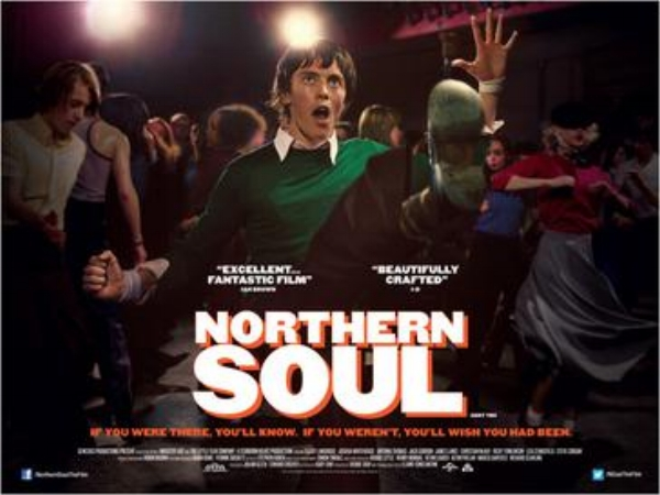 Northern Soul: one of many films Dave has helped fund and as a former DJ and promoter close to his heart.