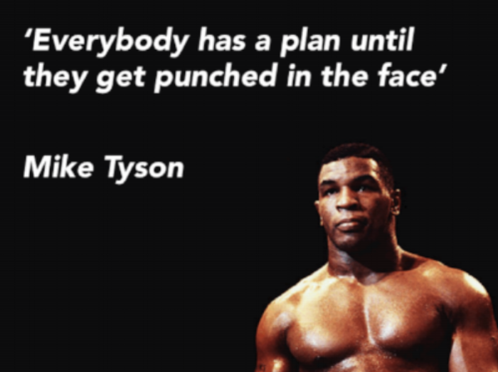 We've gone more than a few rounds this year, taking entrepreneurial inspiration from Mike Tyson.