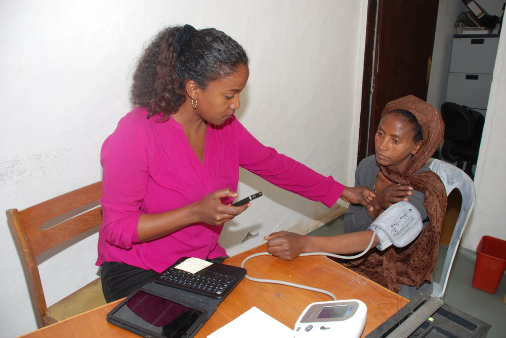 Addis clinic patient