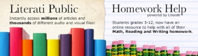 Use your library card to get free help with your homework!