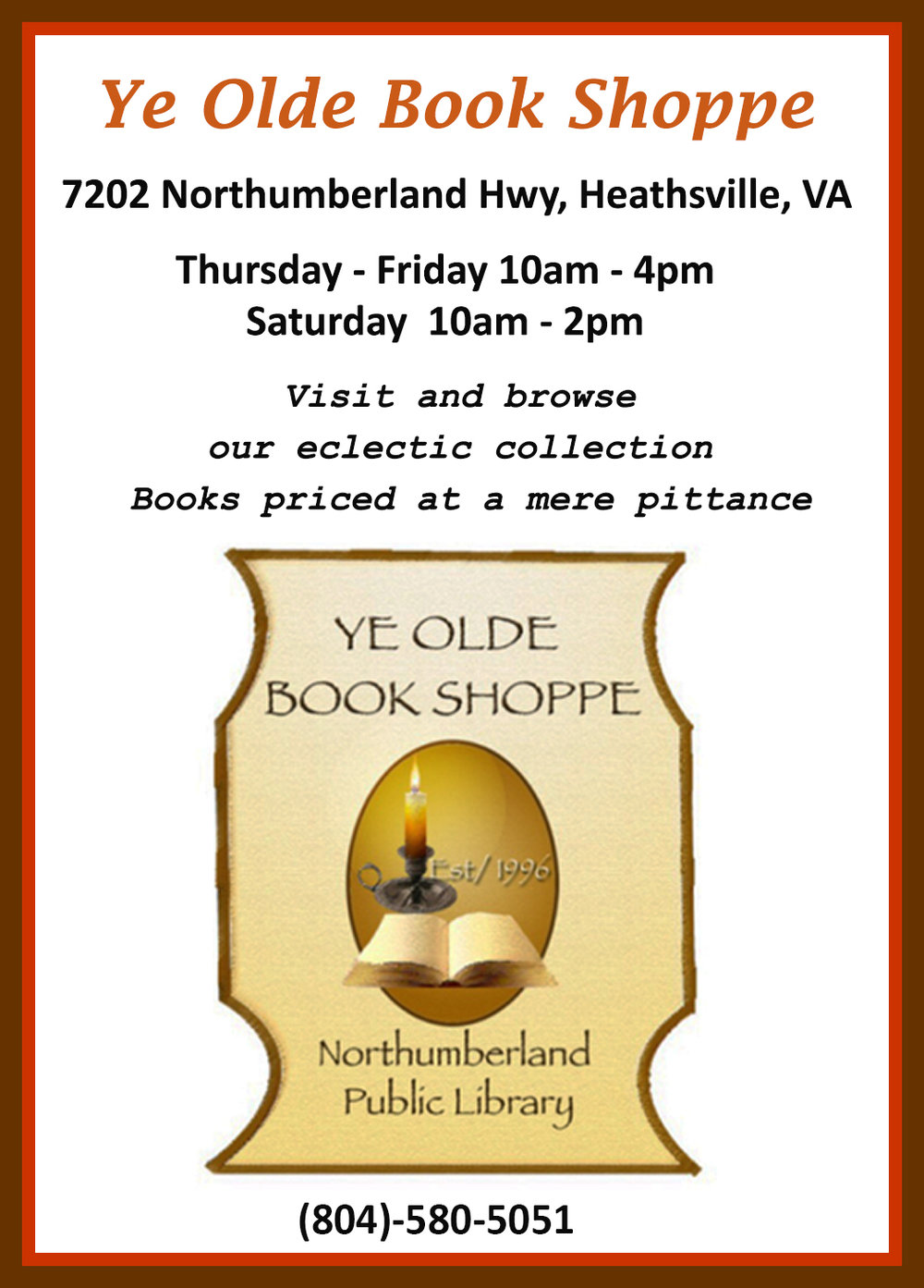 Visit Ye Olde Book Shoppe