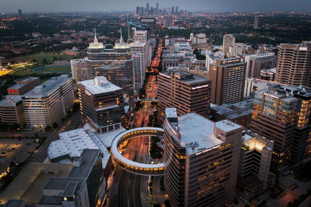 The Houston Texas Medical Center