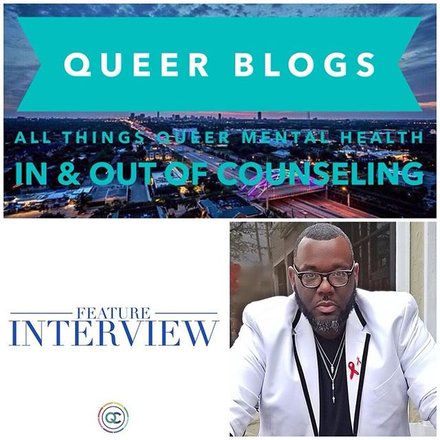 In this Feature Interview, we learn about Jovaun Davenport. He is the founder of HeavyHitters and Co-founder of @heavyhitterspride. He shares the purpose of creating safe empowering spaces for Men of Size and the ongoing journey to having self-worth. Also, he shares stigma surrounding mental health and how the Queer Community can benefit from going to counseling.• . #LinkInBio 🔗⬆️• . As an extension of #QueerBlogs•: All Things Queer Mental Health In & Out Of Counseling• . #FeatureInterviews highlight people in the community doing amazing work, living their truth, making a difference in the Queer Community• . WE WANT TO HEAR YOUR STORY 🗣😃🏳️🌈• . If you would like to be a Feature Interview on Queer Blogs ➡️ send DM or e-mail justyn@thequeercenter.com• . . . .  #TheQueerCenter #HeavyHitters #Queer #LGBTQ #blogger #LGBT #counseling #blog #pride #gayhouston #men #montrosehouston #Houstonheights #Houston #texas #gaystagram #instagay #gaymen #gayfollow #loveislove #Gay #picoftheday #photooftheday #like4like #likeme #follow4follow #followme