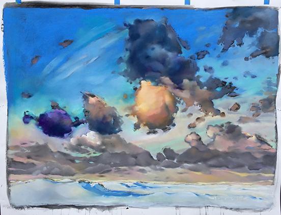 Maria Hoch - Cloudscape 1