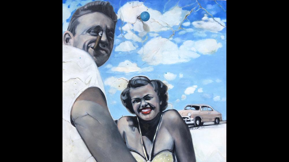 Mom Dad & Car