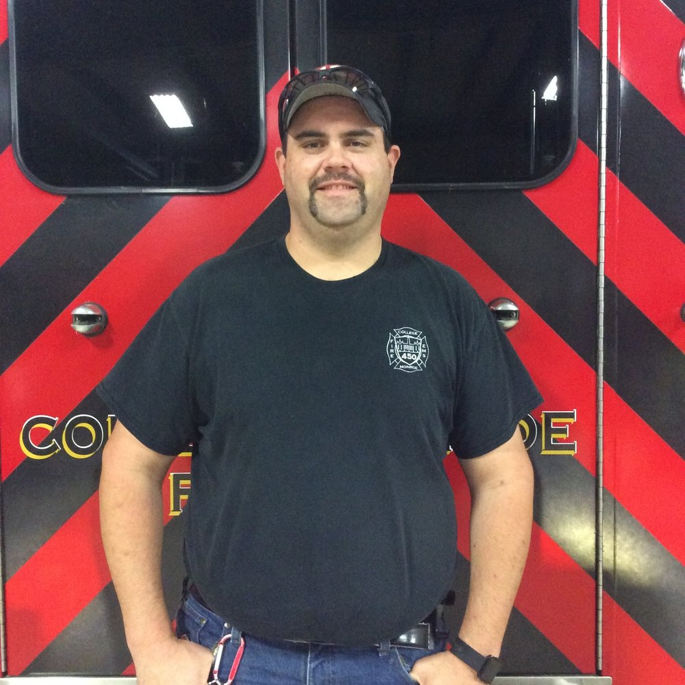 Jim Thompson- Fire Captain 453 - Firefighter II, EMT - Intermediate