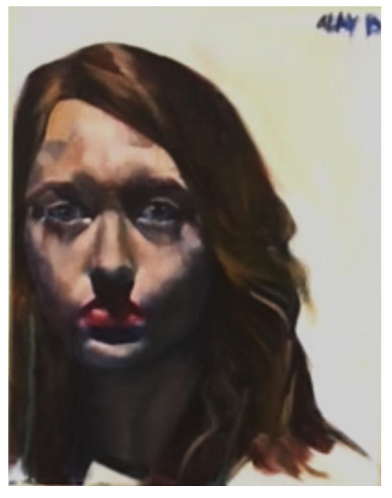 "Abby Burtin (Nerinx High School), ""Self,"" 2017"