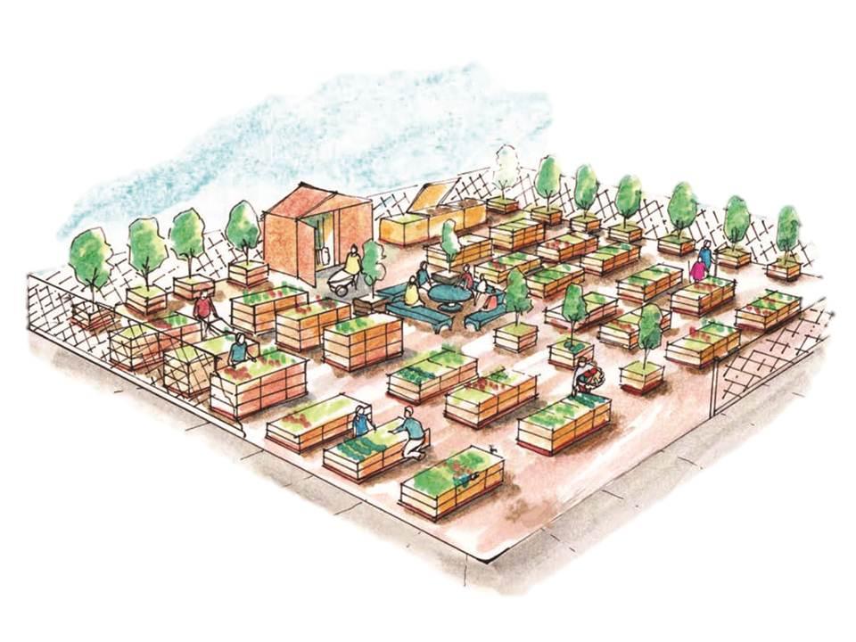 Community_Garden_Builders - Raised Garden Bed concept