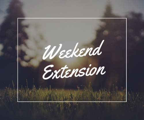Come early, stay late.  Your entire wedding weekend - just for you.  Set-up at your leisure. Enjoy rehearsal dinner & gift opening on-site. Everything in one location.  Check-in Friday 3 PM Check-out Sunday 11 AM  Includes: (2) night stay in the farmhouse suite  2018: $7500  2019: $8500