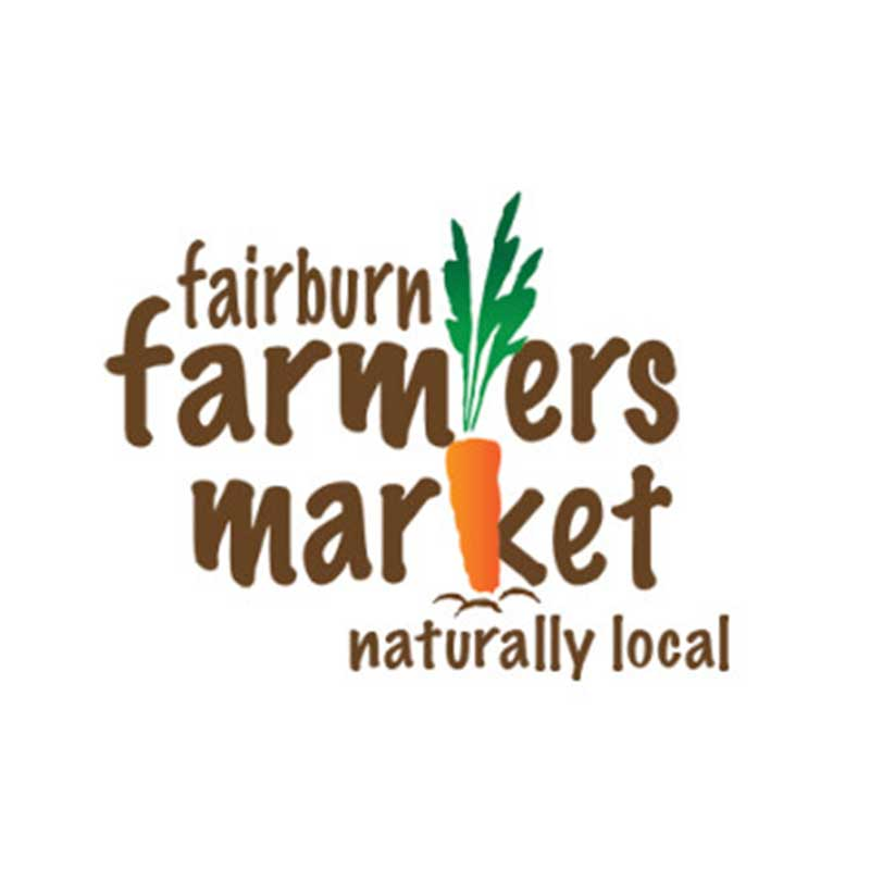 Fairburn Farmers Market    June  – August   Fridays 5 pm – 8 pm  15 W Broad St Fairburn Ga 30213  Contact: Teleschcia Bryant  tbryant@fairburn.com
