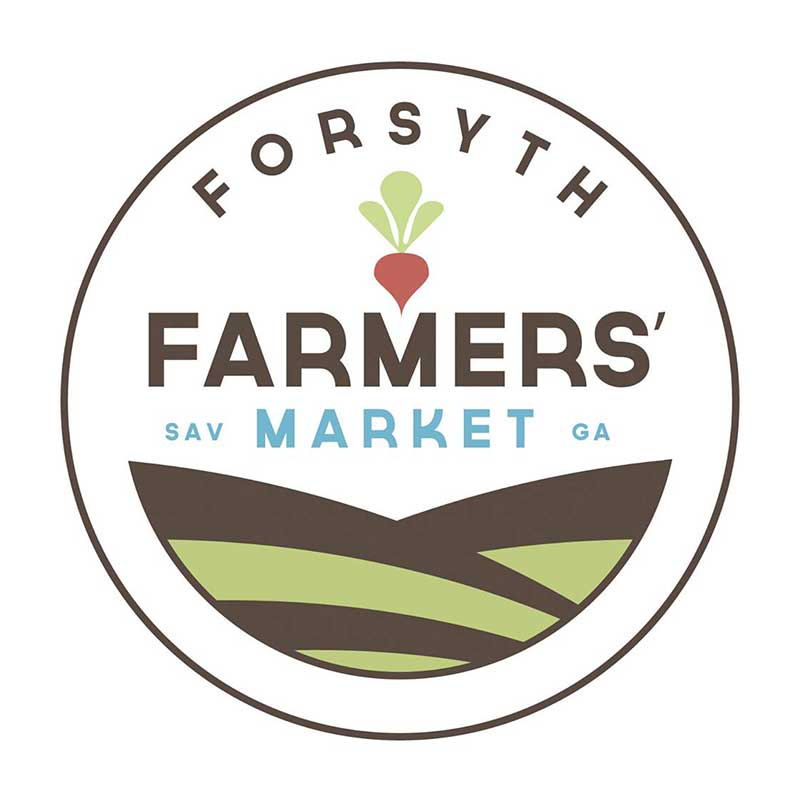 Forsyth Farmers Market Year round, Saturdays 9 am – 1 pm 1 East Park Avenue, on the South End of Forsyth Park in Savannah, GA 31401 Contact: Teri Schell forsythfarmersmarket@gmail.com