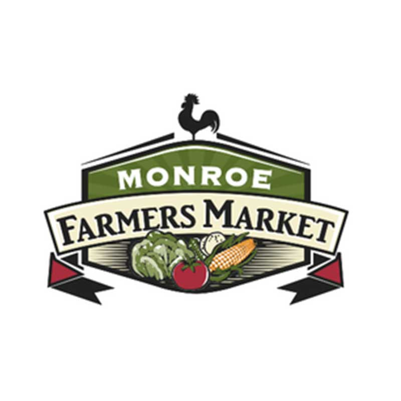 Monroe Farmers Market May 13 – October 7, Saturdays 8:30 am – 12:30 pm Court Street in Downtown Monroe Contact: Gail Zorn monroefmdowntown@gmail.com
