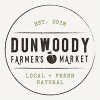 D    unwoody Farmers Market    April - October  Saturdays 8:30 am - 2 pm  4770 N. Peachtree Road Dunwoody, GA 30338  Contact: Marian Adeimy  dunwoodyfarmersmarket@gmail.com