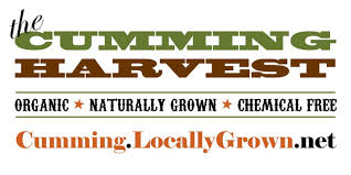 The Cumming Harvest    Year round  Saturdays, 10 am - 12 pm  5755 Hendrix Rd, Cumming,Ga 30040  Contact: Suzanne Geddes  Thecummingharvest@live.com
