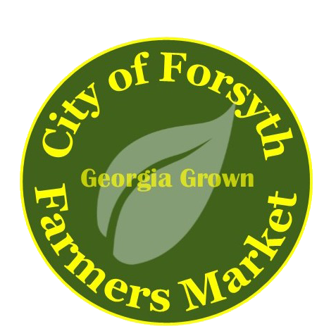 City of Forsyth Farmers' Market   Friday's 12 pm- 6 pm  North Jackson Street behind Persons Bank  Contact:   Tammie Pierson  tpierson@cityofforsyth.com