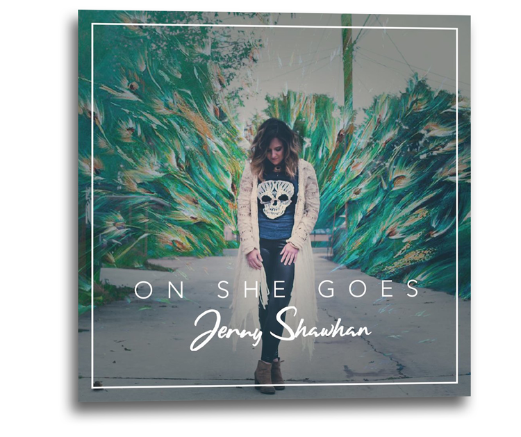 Jenny Shawhan - On She Goes - Single Release
