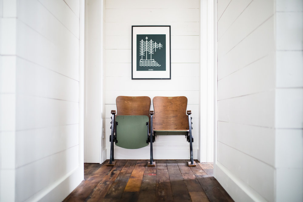 Cedar and Gray Chairs