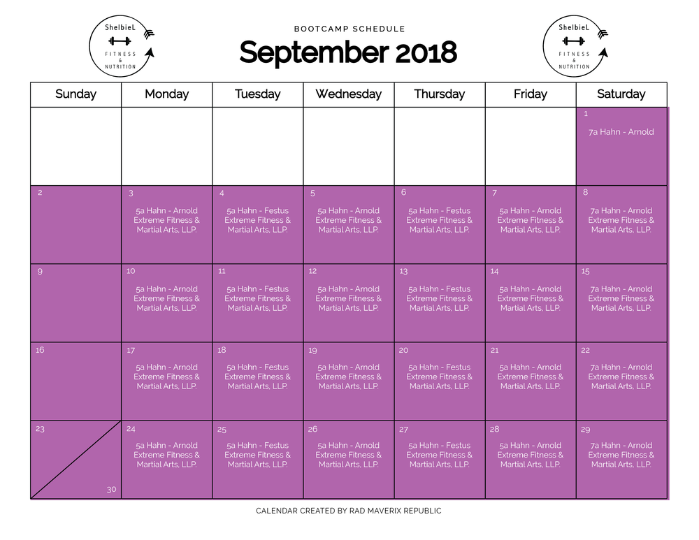 Shelbie L Fitness Calendar 2018-07.png