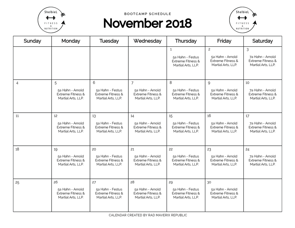 Shelbie L Fitness Calendar 2018-10.png