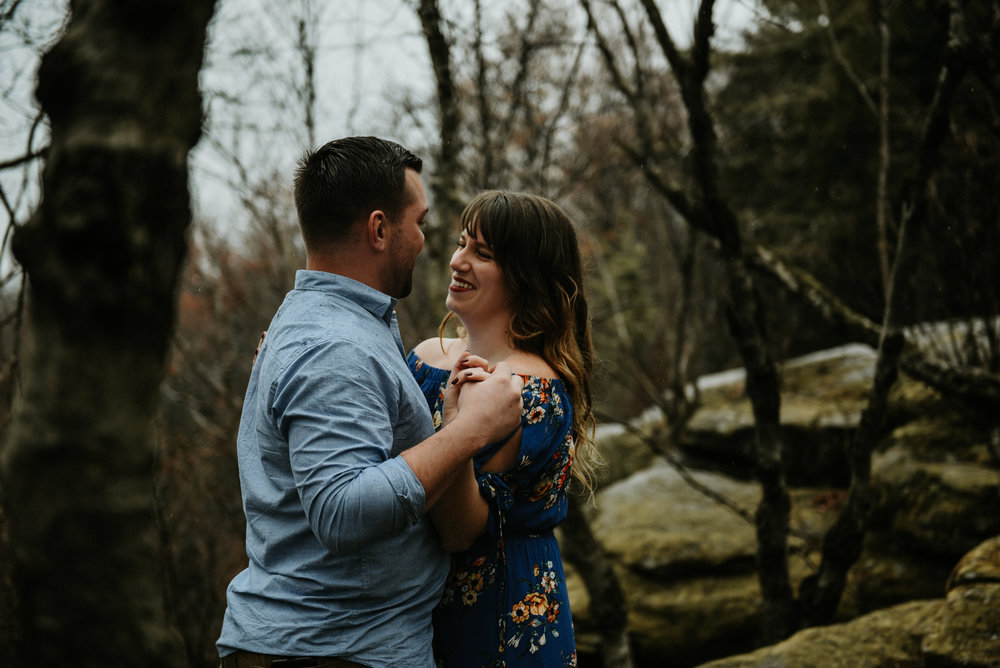Cuyahoga Valley Engagement Cleveland Wedding Photographer