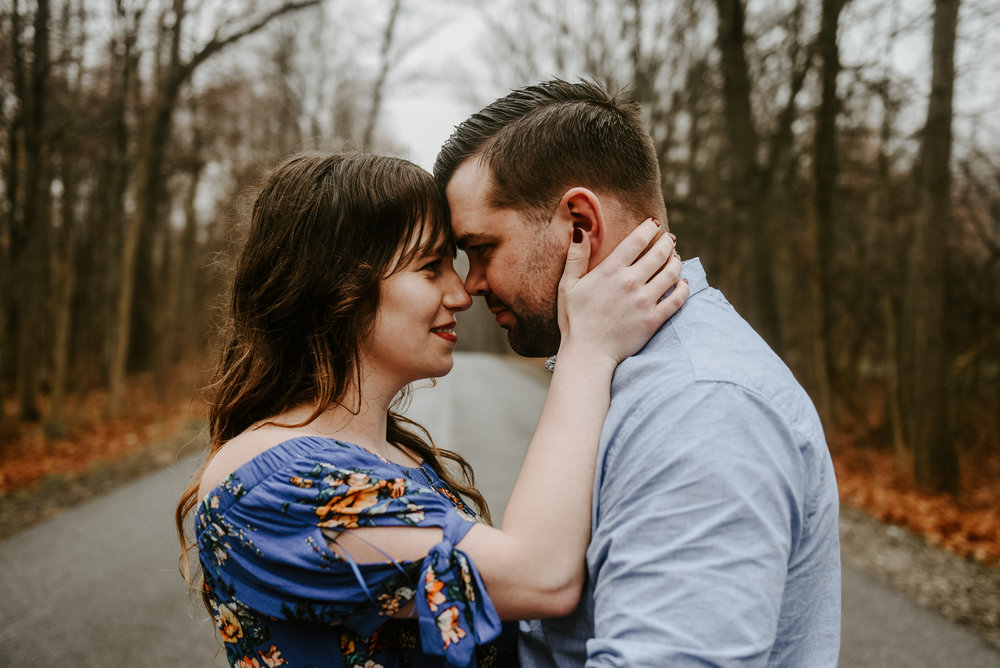 Cuyahoga Falls Engagement Photos Cleveland WEdding Photographer