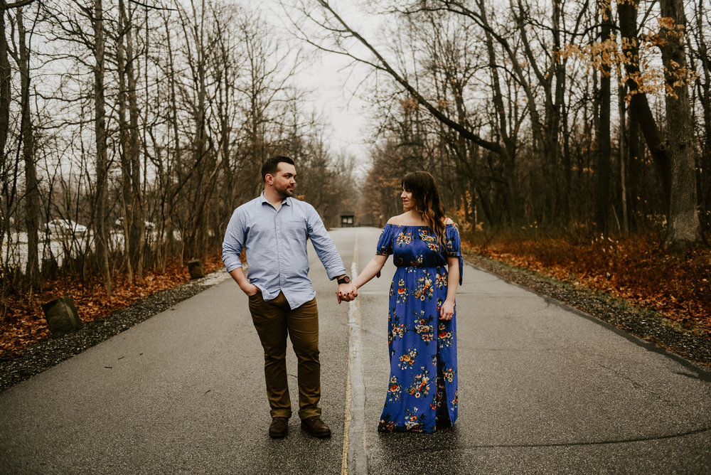 Cleveland Wedding Photographer Akron Wedding Photographers Cuyahoga Valley National Park Engagement Photos