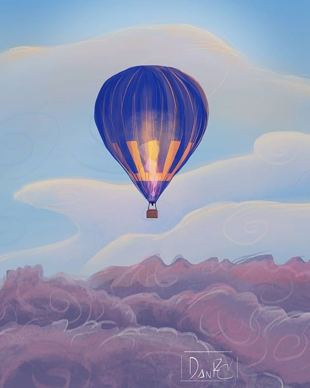 Art by @alque.mistquick . . Tag #womenofillustration for a chance to be featured or become a Patron for a paid promo. . . #visdev #visualdevelopment #digitalsketch #sketch #doodle #illustration #digital #dailyillustration #digitalpainting #dailyillustration #artwork #digitalartwork #artwork #airballoon #capadocia #sunset #environment #childrensbook #childrensillustration  #womenwhodraw #womenwithpencils #digitalillustration #drawing #illustrationoftheday #illustratorsofinstagram #illustrationage #instaart #illustrationartists #illustagram