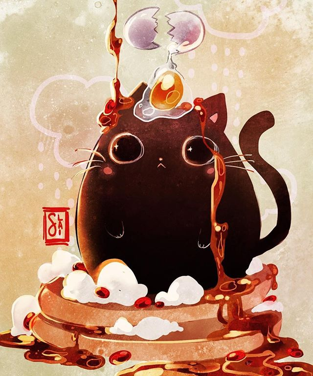 Just made my breakfast one thousand times better. Art by @pochipop . . Tag #womenofillustration for a chance to be featured or become a Patron for a paid promo. . . #kidlitart #childrens_illustration #catillustration #catart #childrensbookillustration #best_of_illustrations #animalillustration #picturebookart  #kidillustration #moreillustration #illustration_best #illustagram #artistsofinstagram #cuteart #kawaiiart #magic_of_illustrations  #womenwhodraw #womenwithpencils #digitalillustration #drawing #illustrationoftheday #illustratorsofinstagram #illustrationage #instaart #illustrationartists #heytheremaker #myeverydaymagic #creativehappylife #illustrationhowl