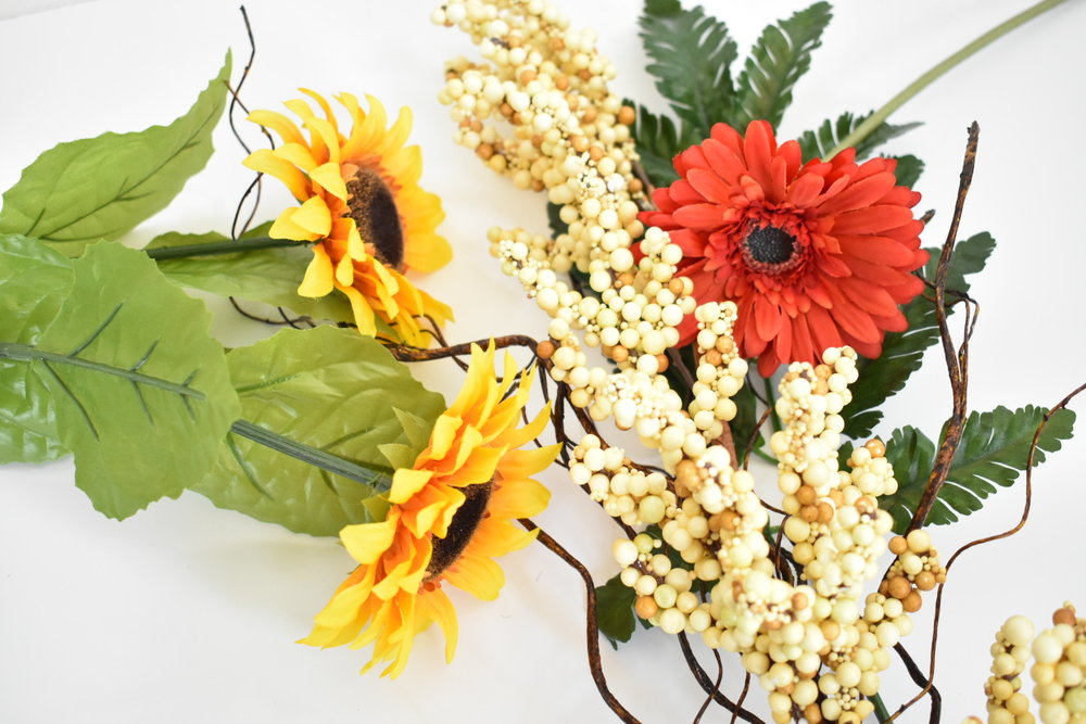 On The Paige Blog DIY Interchangeable Flower Arrangement
