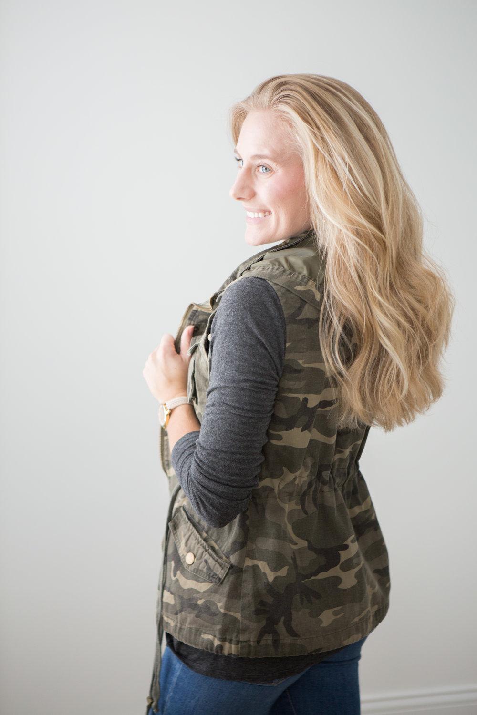 On The Paige Blog | Fall Fashion Prints and Colors | Camo