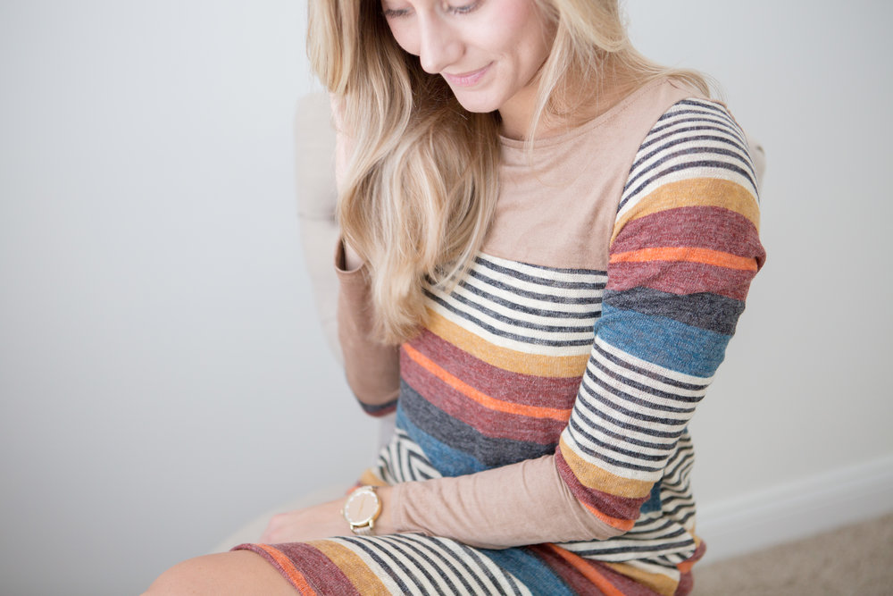On The Paige Blog | Fall Fashion Prints and Colors | Burnt Orange