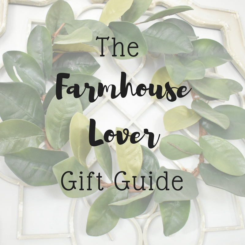 On The Paige Blog | Farmhouse Lover Gift Guide | Christmas Gift Guide | Home Decor