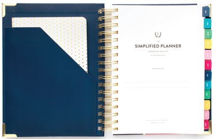 On The Paige Blog | Best Planners of 2018 | Simplified Planner | Emily Ley