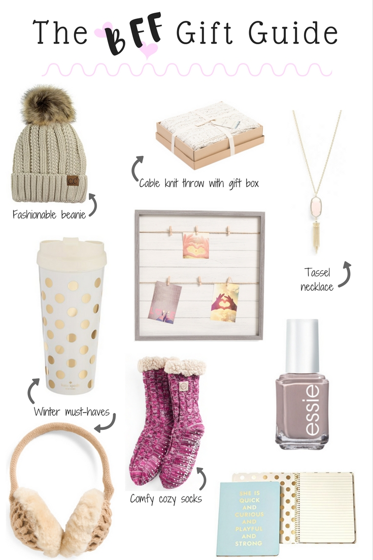 On The Paige Blog | BFF Gift Guide | Christmas Gifts Ideas for Best Friends