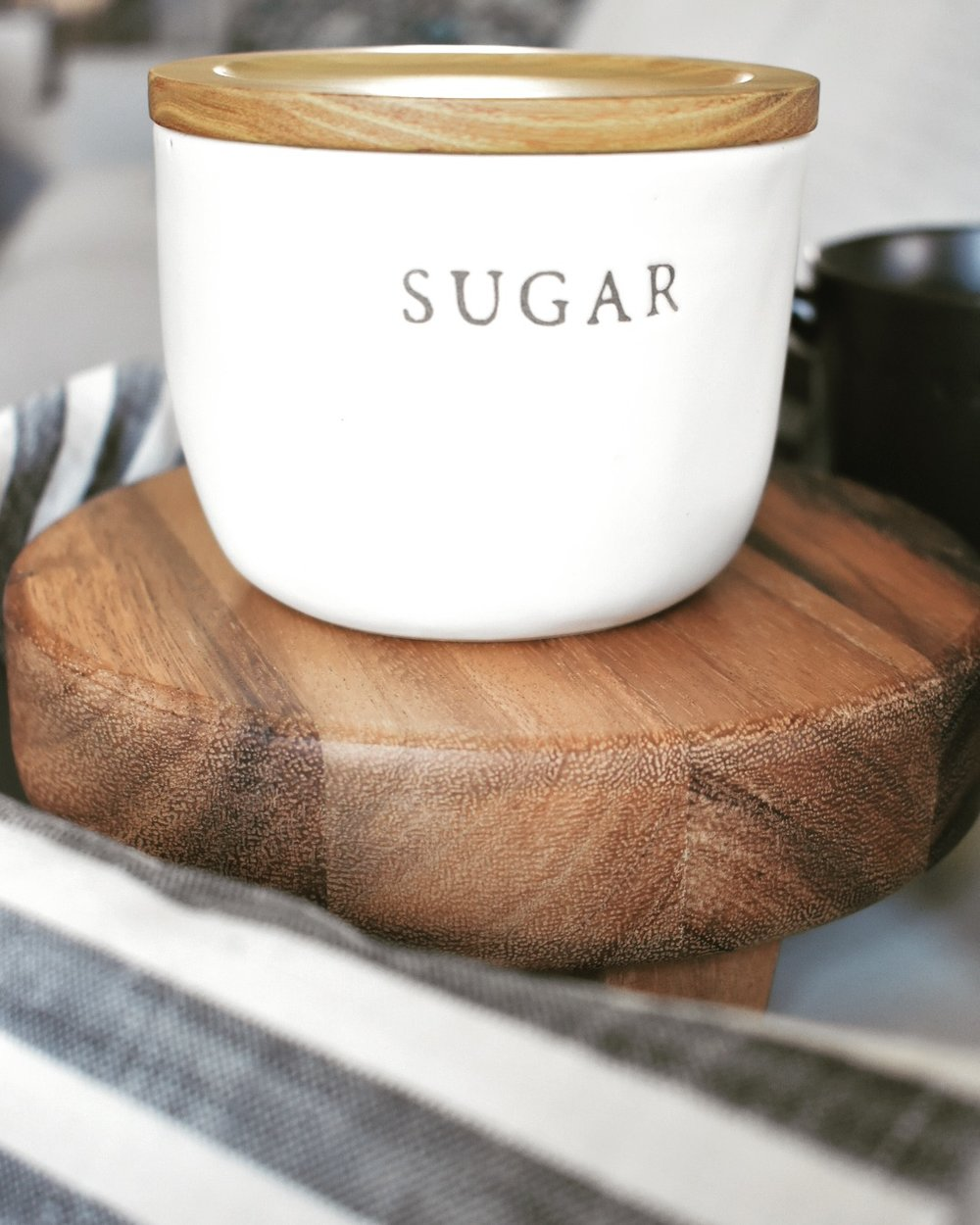 On The Paige Blog | Styling Hearth & Hand with Magnolia | Sugar Cellar | Coffee | Rustic Farmhouse Decor | Kitchen