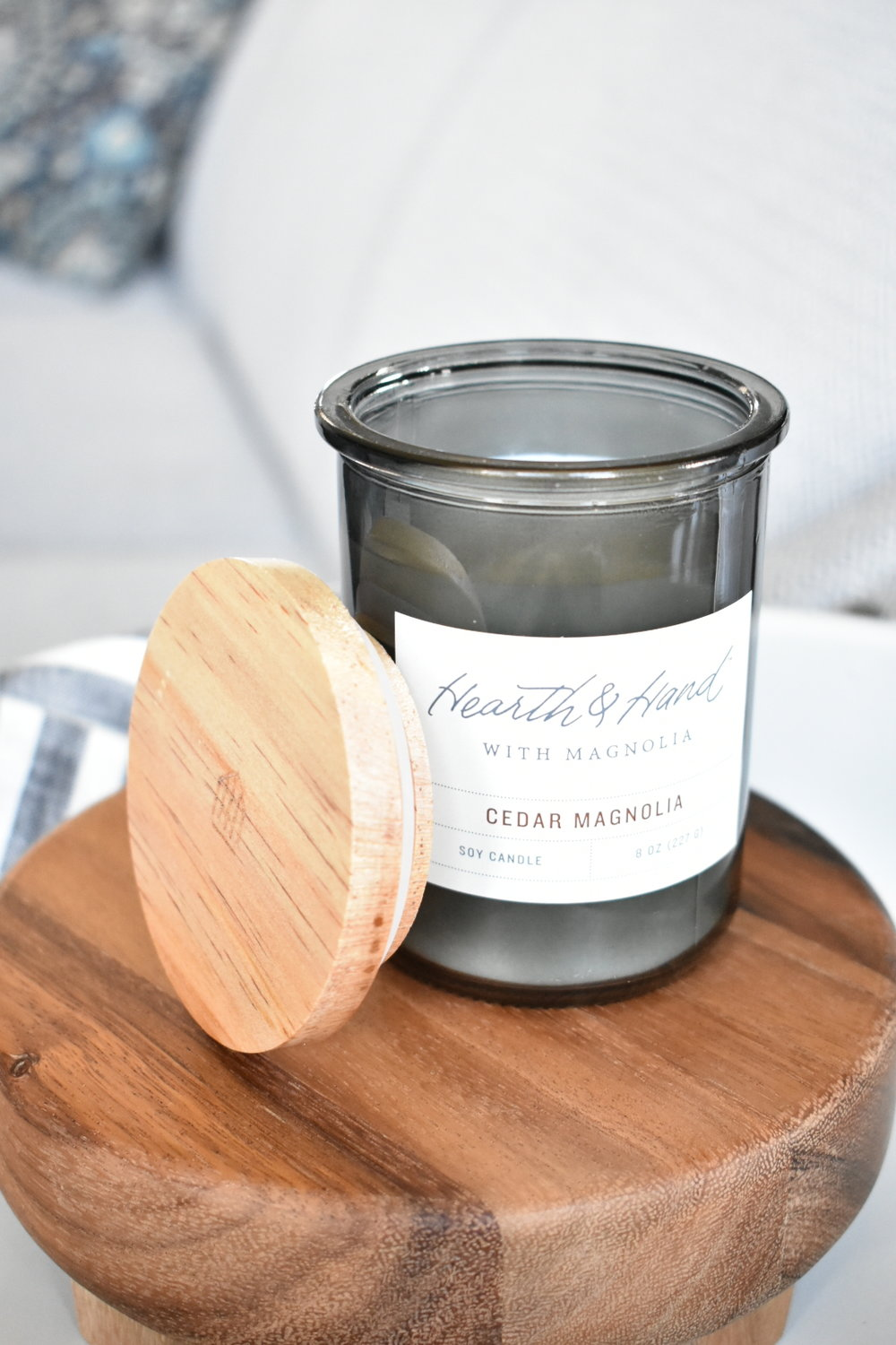 On The Paige Blog | Styling Hearth & Hand with Magnolia | Candles | Farmhouse Decor
