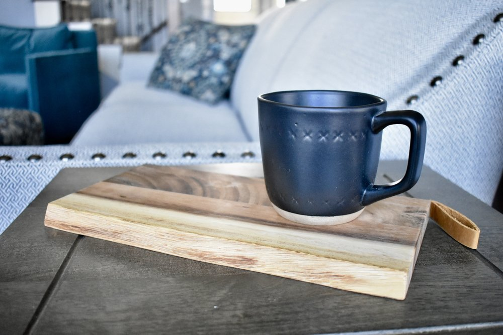 On The Paige Blog | Styling Hearth & Hand with Magnolia | Rustic Farmhouse Kitchen | Wood Tray