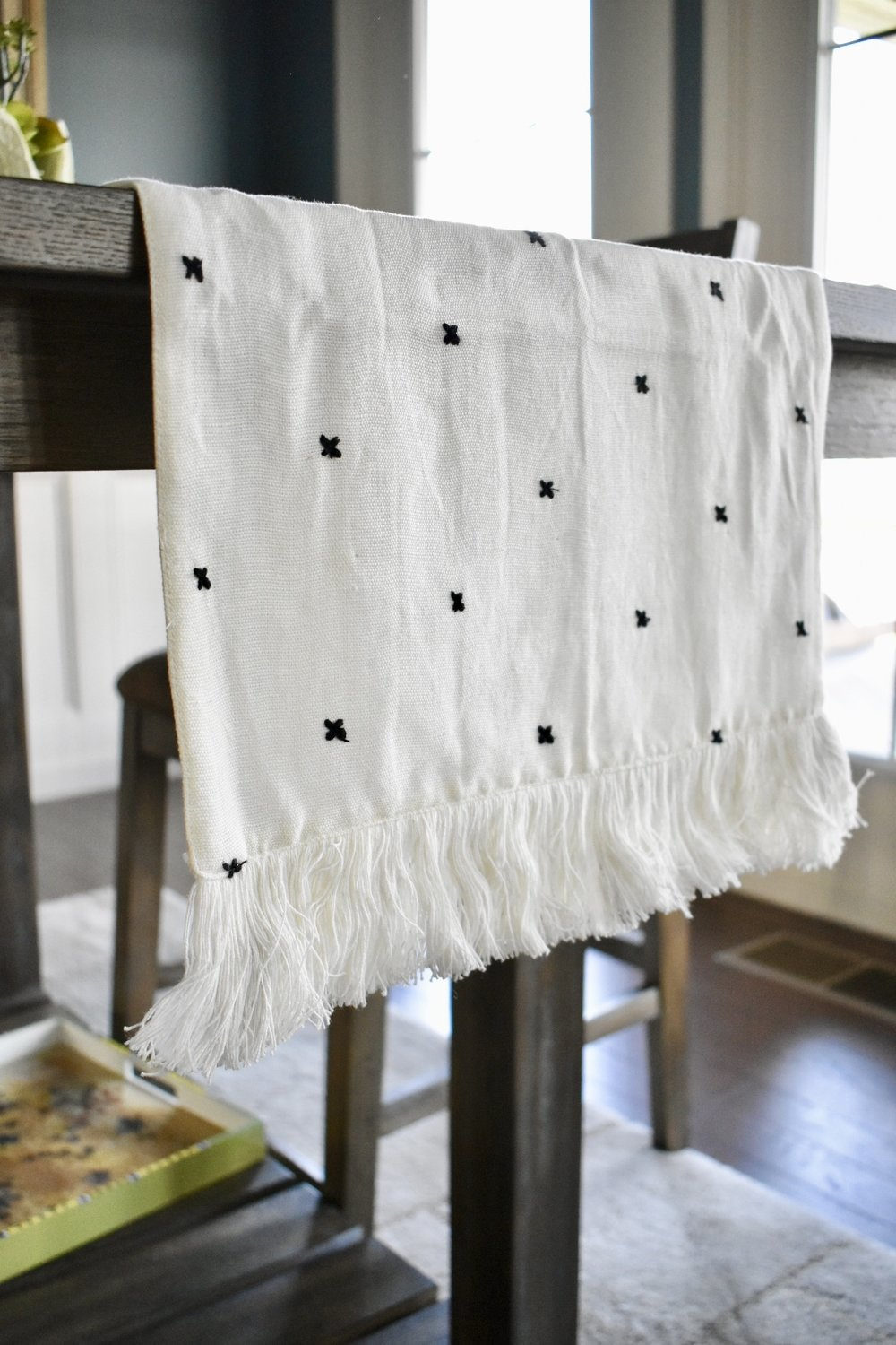 On The Paige Blog | Styling Hearth & Hand with Magnolia | Table Runner | Rustic Farmhouse Home
