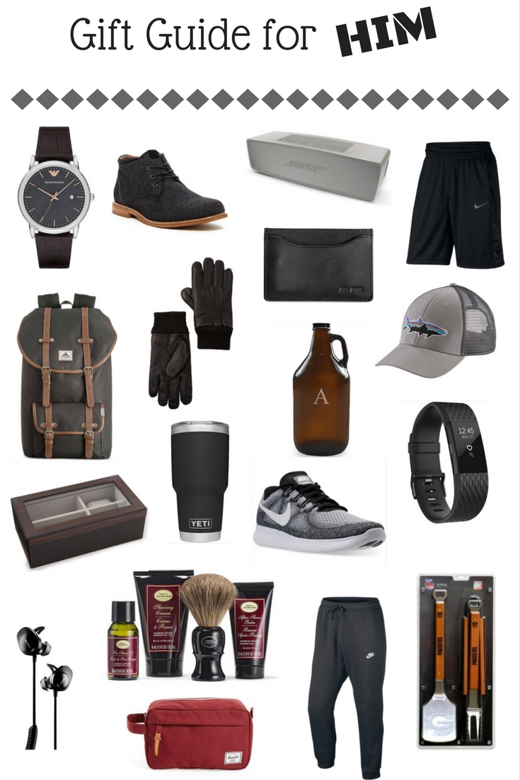 On The Paige Blog | Gift Guide for Him | Gifts for Boyfriend | Gifts for Dad | Gifts for Brother