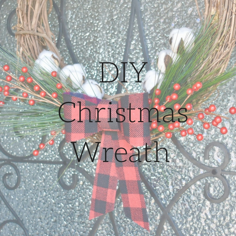 On The Paige Blog | Simple DIY Christmas Wreath