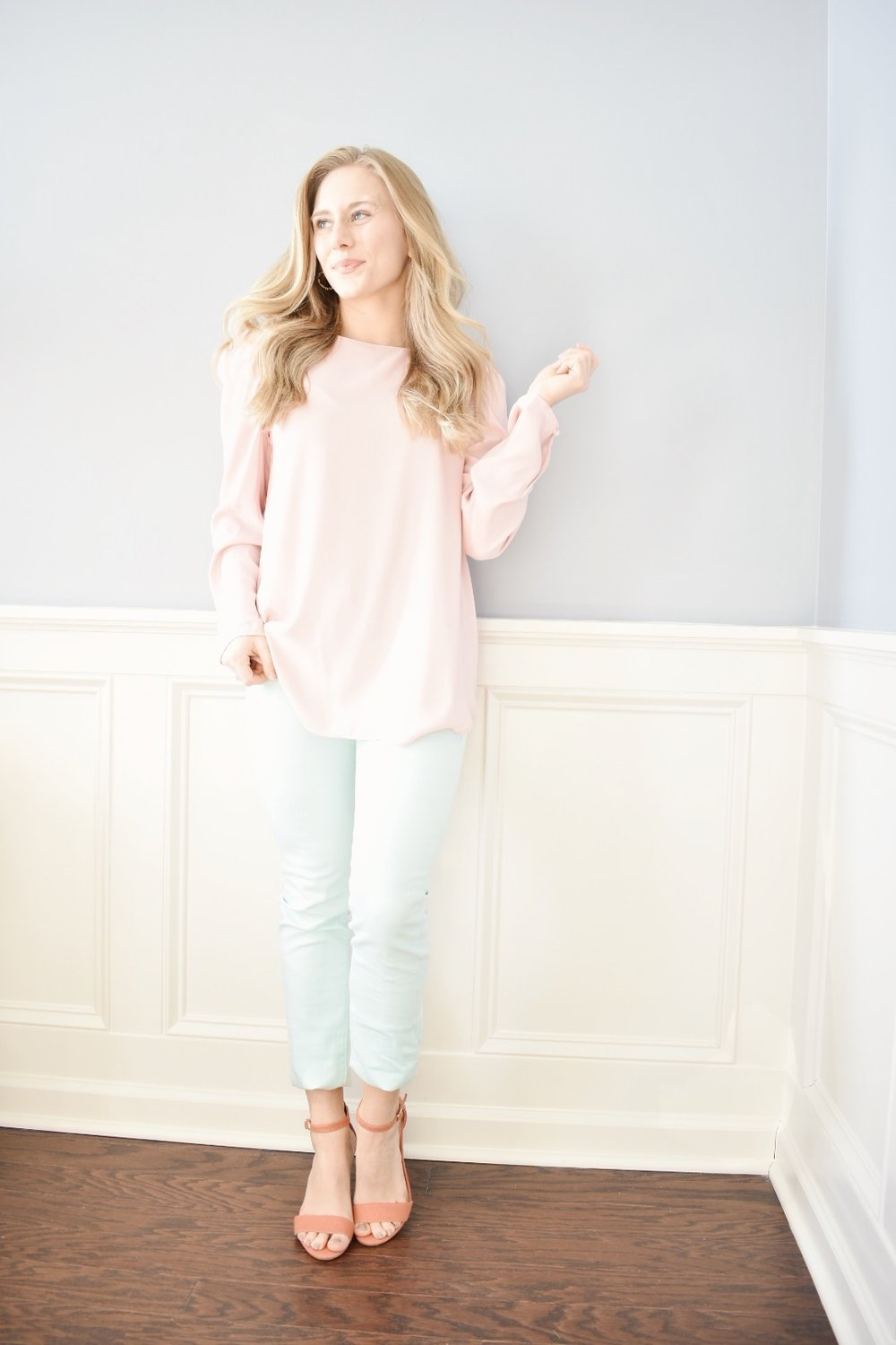 On The Paige Blog | 5 Ways to Wear Blush Tones | Blush with Pastels