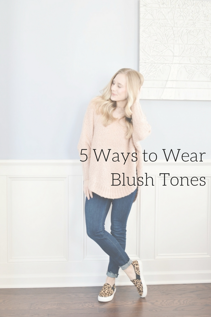On The Paige Blog | 5 Ways to Wear Blush Tones