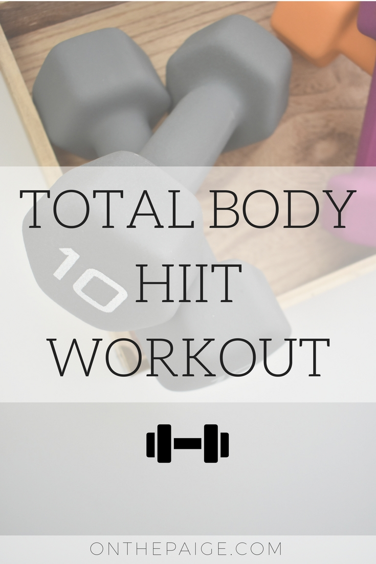 Total Body HIIT Workout | What is HIIT?