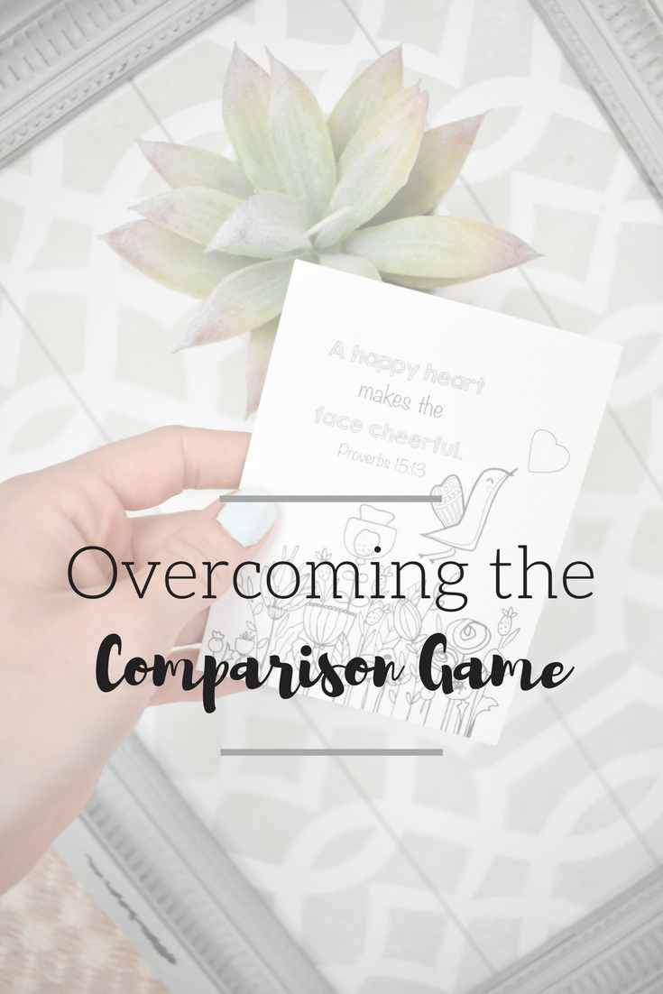 Overcoming the Comparison Game | Beating Comparison | Being Confident in Your Work
